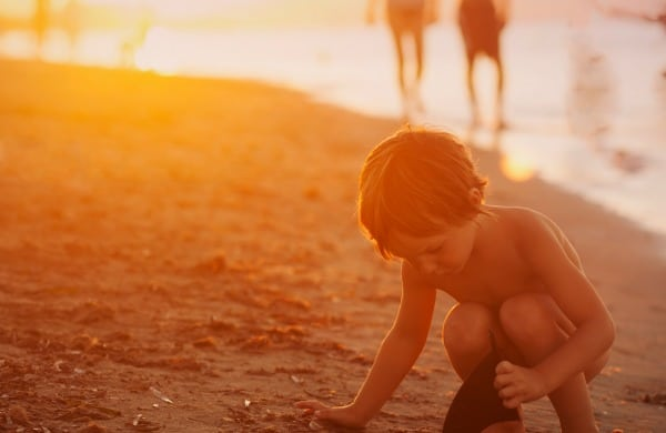starfish and little boy poem