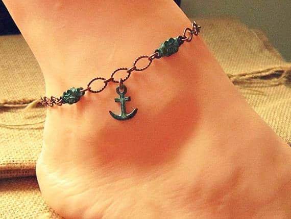 nautical anklet