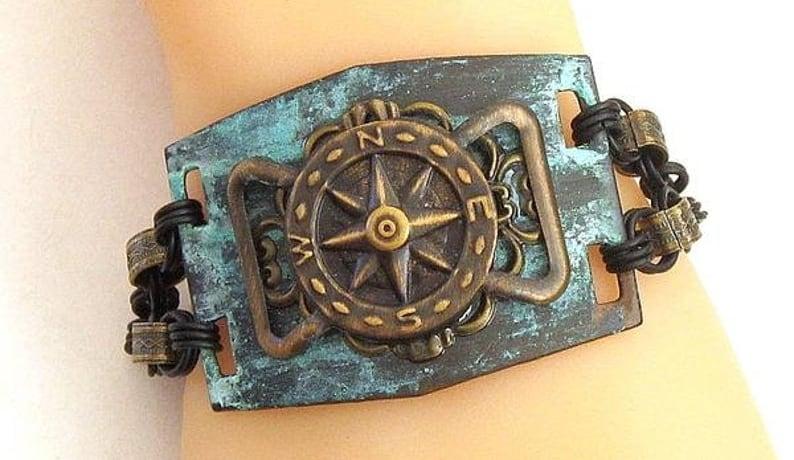pirate cuff bracelets for men