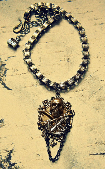 statement pirate necklaces